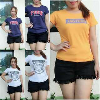 019 Overruns T-Shirts for HER LARGE size