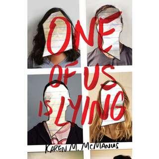 One of Us Is Lying by Karen M. McManus - EBOOK