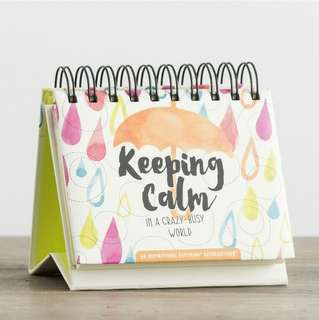 BN DaySpring 'Keeping Calm' Perpetual Calendar