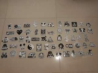 Vinyl-based stickers
