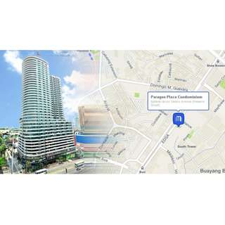 Studio For Rent | Paragon Plaza Mandaluyong City