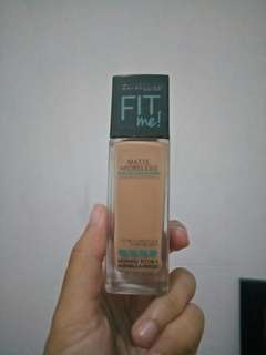 Maybelline fit me mate poreless foundation 220 natural beige