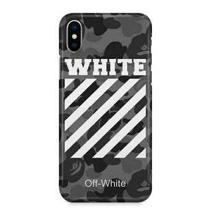 Off White iPhone X Custom Hard Case