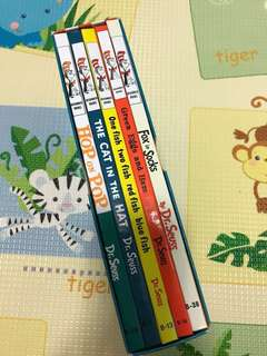 Almost NEW! Must Have Classic Book collection: Dr Seuss's Beginner Book Set (hardback books)