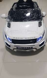 Brand new and ready stock ride on car for kid