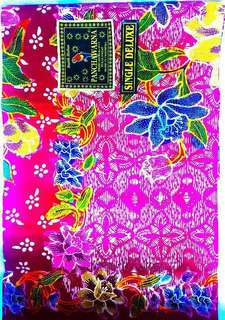 Beautiful Art handwork Batik Material Original from Indonesia can be framed for wall deco or used as table cloth!!!!