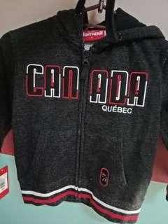 toddler jacket w/ hood