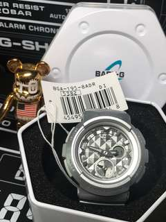 Brand new and 100% Authentic Casio Baby-G BGA-195-8ADR , bga195, BGA195 , bga195-8adr for sale