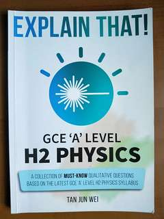 H2 Physics Complete A Pack