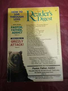 Reader digest issue 1992