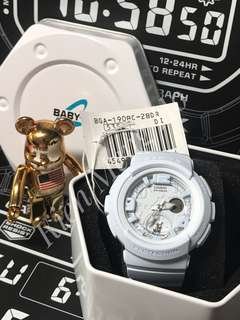 Brand new and 100% Authentic Baby-G BGA-190BC-2BDR for sale BGA190 , bga190, BGA190BC , bga190bc , bga-190bc-2