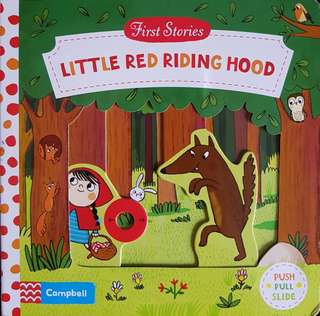 Little Red Riding Hood (with sliding tab)