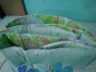 Crib bumper / cover / protector