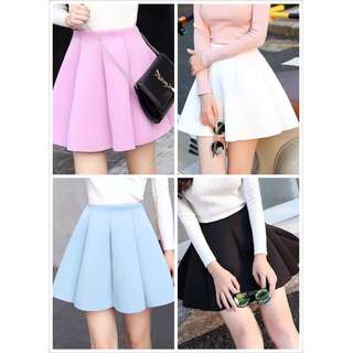 Thick Cotton A-Line Skirt