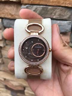 Authentic Crocodile rose gold for ladies
