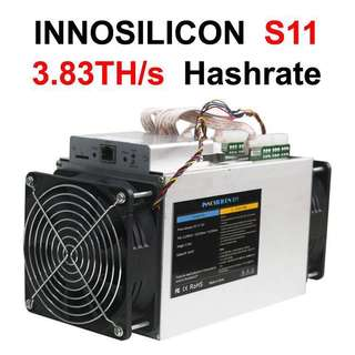 Asic Miner _ INNOSILICON S11 Sia CoinMaster 3,83 TH/s Hashrate