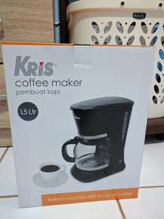 Kris Coffee Maker 1.5 Liter