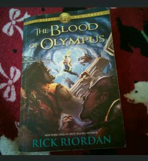 The Blood of Olympus relisted