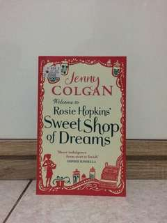 "Novel ""Welcome to Rosie Hopkins' Sweet Shop of Dreams"" - Jennye Colgan"