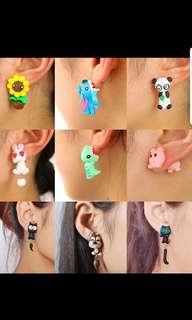 P2mart ✌✔Pre order ✔colourful sweet earrings