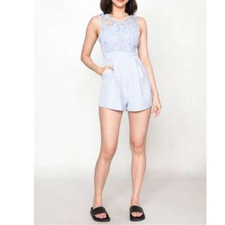 KEI MAG TEGAN LACE PLAYSUIT