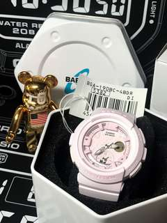 Brand New and 100% Authentic Casio Baby-G BGA-190BC-4BDR for sale bga190 , BGA190 , BGA190BC , bga190bc , bga-190bc-4