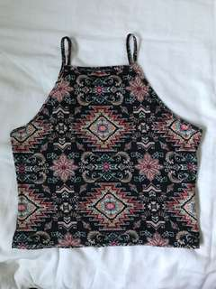Garage halter cop top