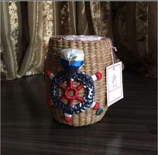 Hyacinth Small Bag Sailor Design