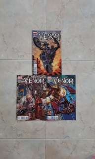 "Venom Vol 2 (Marvel Comics 3 Issues; #10 to 12, complete story arc on ""Road Trip"")"