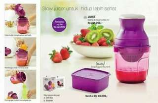 New Tupperware Juist (Ungu)