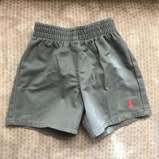 Polo Taupe Shorts for Boys