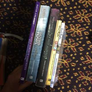 Preloved novels - dapat 5