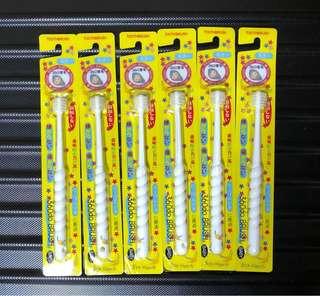 Japan STB Higuchi 360 degree dandelion toothbrush for infant and kids