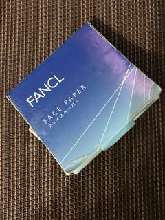 Fancl 面油紙(100枚入)