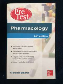 Pre Test Pharmacology (14th Edition)