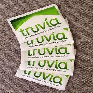 5 x 3g Packets Truvia Stevia (Keto & Diabetic Friendly)