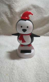 Christmas Solar Powered Dancing Penguin