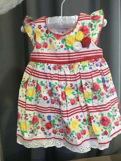 Baby summer dress size 00