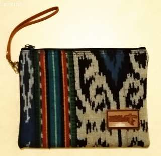 Multi use bag from Indonese, 18 x 24 cm, new