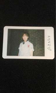 Seventeen Hoshi/Soonyoung Love & Letter Repackage photocard
