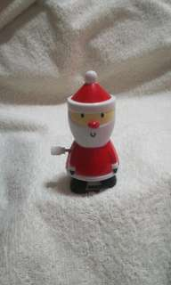Christmas Santa Wind Up & Walk Toy