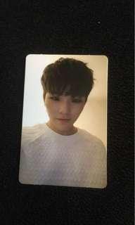 Seventeen Woozi/Jihoon Going Seventeen photocard
