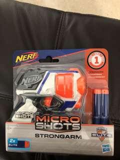 Nerf micro shots strongarm