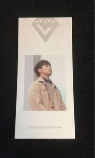 Seventeen Seokmin/DK Love & Letter photocard/bookmark