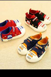 PO new arrival Super wings Canvas Shoe Brand New Size 14-16cm only