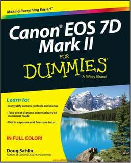ebook Canon EOS 7D Mark II For Dummies