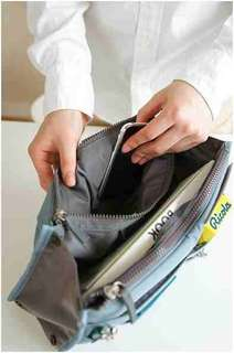 Everyday travel bag organizer