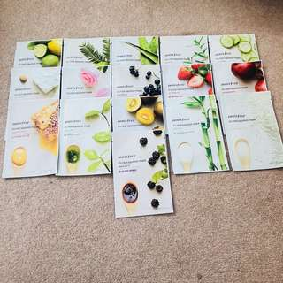 INNISFREE Sheet Masks