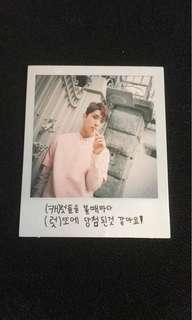 Seventeen Joshua Love & Letter Repackage big photocard