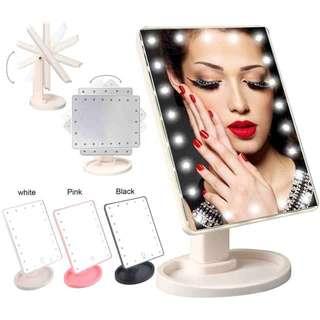 Large LED mirror 16 led lights vanity mirror